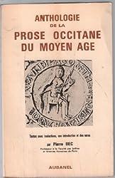 Anthologie de la prose occitane du Moyen Age