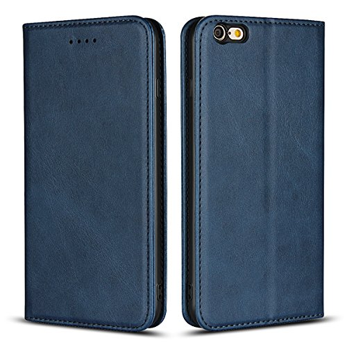 Wendapai iPhone 6 iPhone 6s 4.7 inch Schale Protector Schutz Skin Double Layer Bumper Hülle stoßfest Impact Defender Schutz Hülle Schale zum iPhone 6 iPhone 6s 4.7 inch, Blue