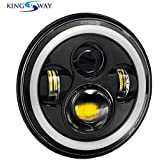 Kingsway kkmrehlfullrg20003 LED Headlight (Black)