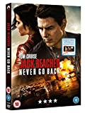 Jack Reacher: Never Go Back (DVD + Digital Download) [2016] only £9.99 on Amazon