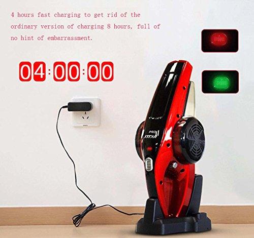 GONGFF Auto-Wireless-Reiniger Haushalt Kleine Hand Geladen Leistungsstarke Leistungsstarke 12V Tragbares Fahrzeug (12 Geladen)