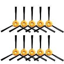 Louu - Cepillo Lateral 10 Piezas para Conga Excellence Pieza robotizadora Piezas de Recambio