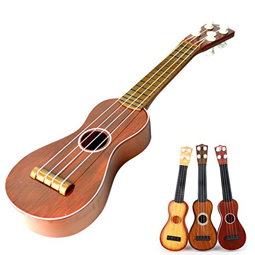 Goolsky Mode Ukulele für Schüler Kinder Anfänger Kinder Akustische Gitarre Geschenk Kindergarten Spielzeug Mini Musik Instrument Zufällige Farbe Musik-instrument-gitarre