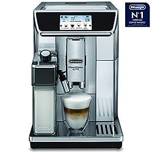 De'Longhi Delonghi ECAM650.85.MS Primadonna Elite Experience Coffee Machine, 1450 W, Silver
