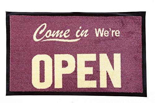Unbekannt Fußmatte Come in We´RE Open Gummimatte Geschäft