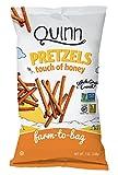 Quinn Popcorn - Palitos de pretzel sin gluten Touch of Honey - 7 oz.