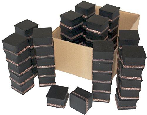 Gummiauflage 40x40x28mm (Karton mit 45 Stück) für Wagenheber und Hebebühnen
