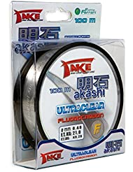Lineaeffe Take Akashi fluorocarbono 50m 0,60mm, 34kg UltraClear
