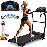 PrestigeSports XM-PROIII Treadmill 2019 Model Motorised Running Machine, Folding, 12KPH Speed, 3 Level