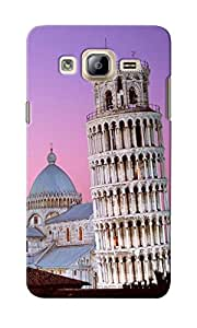 CimaCase Leaning Tower Of Pisa Designer 3D Printed Case Cover For Samsung Galaxy On7