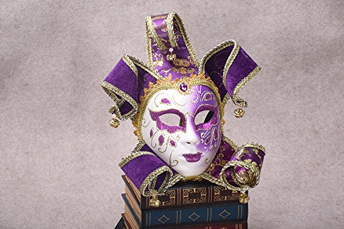K&C Venedig Masquerade Kostüm Maske Halloween Weihnachten Tanz Party Exquisite Maske (Kostüm Party Makeup Tutorial)