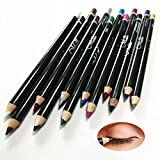VALUE MAKERS 12 Farbe Glitter Eyeliner Pencil Lidstrich Augen Liner