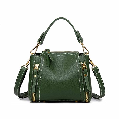 Women's Bag Bucket Umhängetasche Portable Schulter Mini Bag,D D