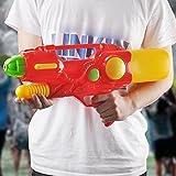 GZ Kinder Spielzeugpistole 56 Cm Wasserpistole Große Größe Junge Mädchen Erwachsene Wasserpistole,Rot