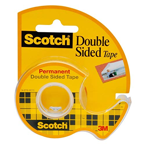 3M 3M Scotch Permanent Doppelseitiges Klebeband