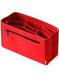 Classic Slash Handbag Organiser - Bag in Bag - Insert Pouch for Women Purse - Felt