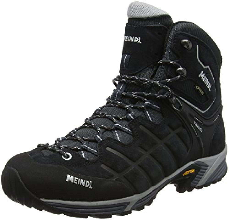 Meindl Black/Silver, Zapatos de Low Rise Senderismo para Hombre  -