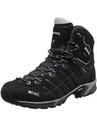 Meindl zapatos de senderismo para hombre zapatillas de senderismo NEBRASKA MID GTX Antracita, color, talla 9 UK