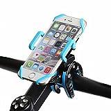 Fahrrad Handyhalterung Halter mit 360 Degrees Rotate Fahrrad Lenker & Motorrad Halter , Stabile Fahrradhalterung für iPhone 7 6S Plus 6 5S Samsung Galaxy S7 S6 Edge Nexus 5X 6P LG G5 (Blau)