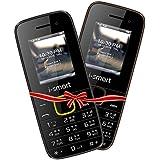 I-Smart IS-100LSelfie(Blk-Yellow/Choclate)Combo Pack|selfie Camera|dual Sim Mobile Phone| Keypad Mobile Phone