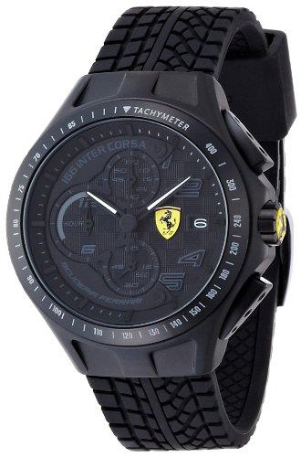 Ferrari 830105 - Reloj analógico de Cuarzo para Hombre, Correa de Sil