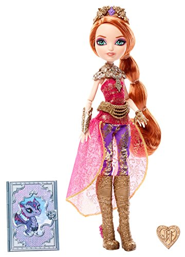 Ever After High Mattel DHF37 - Modepuppen, Drachenspiele Holly Fabulous Sheer
