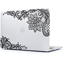 Funda MacBook Air 13, TwoL Ultra Slim Plástico Funda Dura Carcasa para MacBook Air 13,3 Pulgadas A1466/A1369 Case Cover (Encaje Claro)
