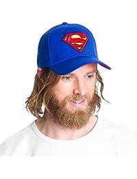 Superman - Casquette snapback logo DC Comics - Bleu