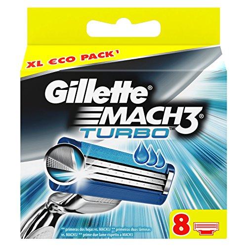 gillette-mach3-turbo-razor-blades-pack-refills-for-man-pack-of-8