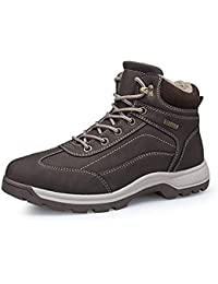 ba5677f325b41 Stivali da Neve Scarpe Uomo Impermeabili Caldo Escursionismo Trekking Scarpe  Caldo Invernali All aperto Boots