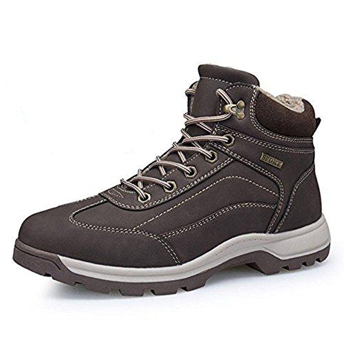 Stivali da Neve Scarpe Uomo Impermeabili Caldo Escursionismo Trekking Scarpe Caldo Invernali All'aperto Boots
