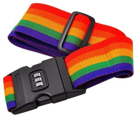 Lukzer Multicolor Luggage Strap
