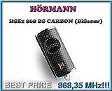 HÖRMANN HSE2-868-BS CARBON handsender 868,3Mhz BiSecur 2-kanal fernbedienung. Top Qualität original Hörmann fernbedienung für den besten Preis!!!