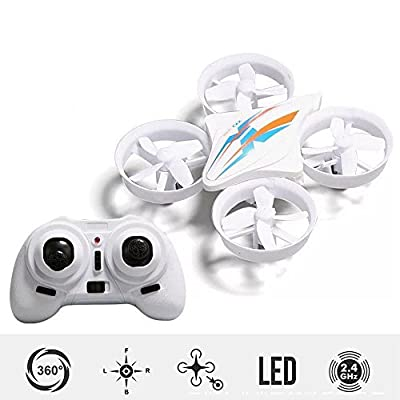 Jiayuane KK-2 Mini RC Quadcopter Drone for Kids with Headless Mode 3D Flips One Key Return Easy to Fly Quadcopter Drones for Beginners by Jiayuan