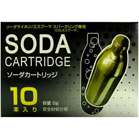 schiuma della birra con cartuccia soda maestro bolla strumento dedicato 8gX10 Film [RTN Giappone biossido di