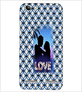 PrintDhaba Couple D-3550 Back Case Cover for LENOVO VIBE K5 PLUS (Multi-Coloured)