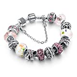 Best Inspired Silver Bracelets - Hot And Bold Charms Stylish Bracelet. Sterling Silver Review