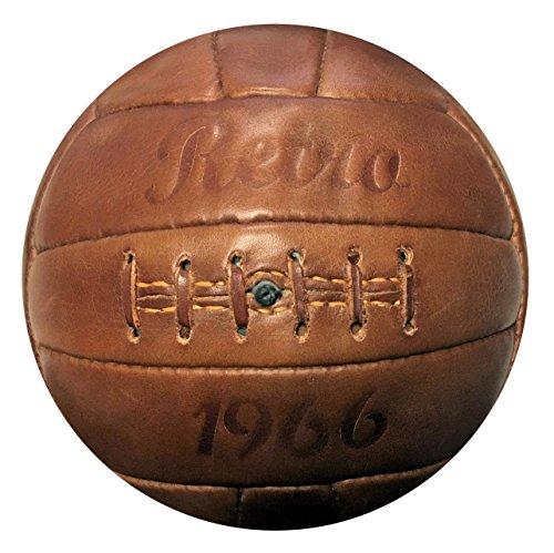Retrofußball, Fußball Retro 1966, Echtleder ...