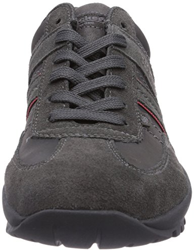 Dockers by Gerli 36HT001, Low-Top Sneaker uomo Nero (Asphalt)