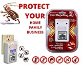 #9: FreshDcart Mouse Killer Electric Trap Products Indoor Dog Friendly & Spider Repellent Cockroach Ultrasonic Plug in Machine for Home Kitchen Shop Cars Big Rats,Ant, Roaches, Rodent