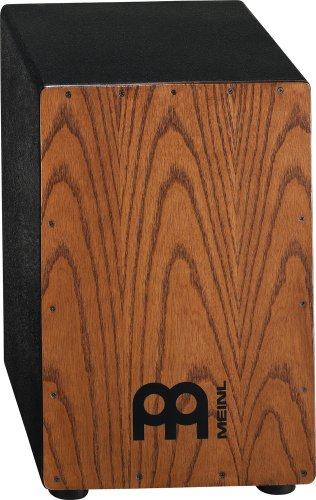 MEINL PERCUSSION HCAJ1AWA - CAJON CON PARCHE NATURAL DE FRESNO  COLOR NEGRO