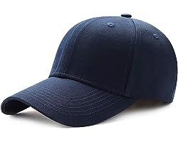 QXuan Basic Baseball Caps Snapback for Men and Women,Classic 6 Panel Sport Casual Sun Visor Hat,Adjustable 56-60cm