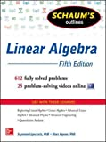 Schaum's Outline of Linear Algebra, 5th Edition (Schaum's Outlines)