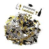 Homyl Enhorabuena Champán Taza Mesa de Dispersión Confeti Decoración Fiesta de Graduación