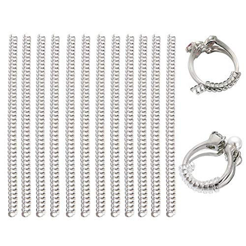 12 Pcs Spiral Ring Adjuster Size Reducer