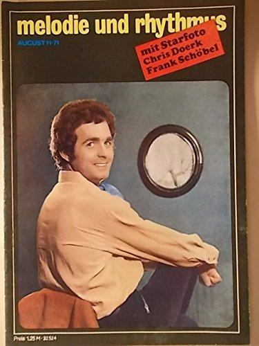 Melodie und Rhythmus 11/1971 (Titel: Michael Hansen / Starfoto: Chris Doerk & Frank Schöbel)