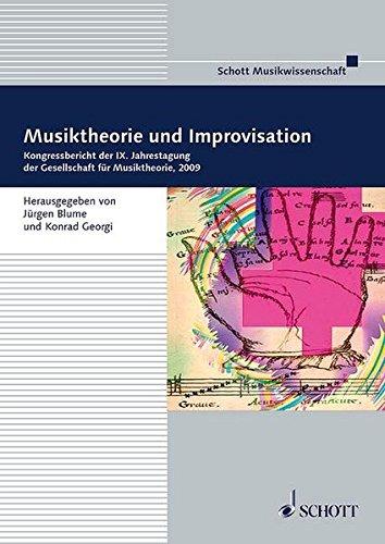 Musiktheorie Und Improvisation Band 1