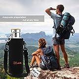Reflect Edelstahl Trinkflasche (600ml) mit Bambus Kappe - 5