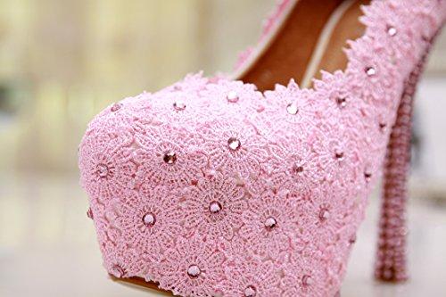 Semelle Rose Minitoo Heel Pink femme compensée 14cm 1nHqHxPB4