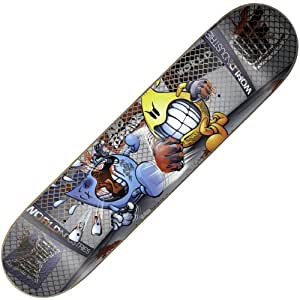 """World Industries Mini Lights Out Flameboy Complete Skateboard Planche à roulettes 7"""" x 28"""""""